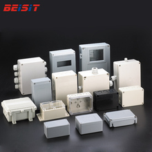 IP66 Tahan Air Outlet Kustom Plastik ABS Hermetic JUNCTION BOX Electronic & Instrument Enclosures
