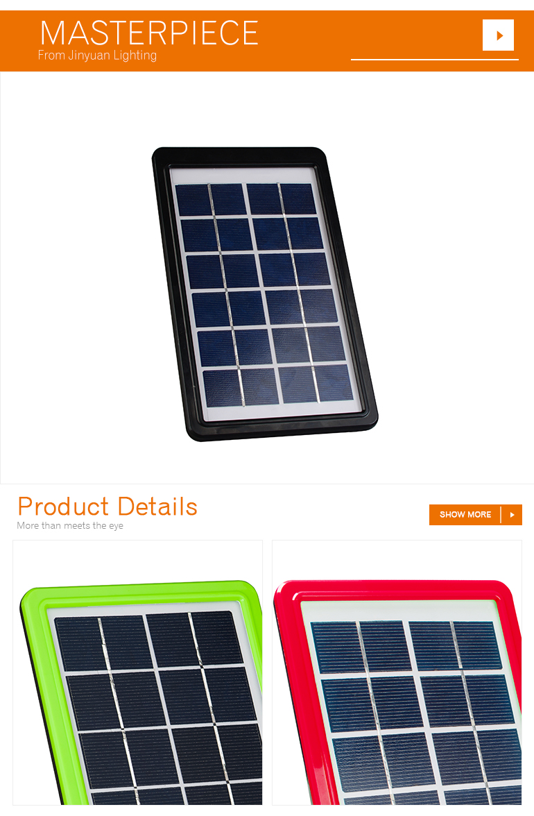 small size 6v charger polycrystalline 3w solar panel for OEM customized