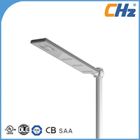 UL cUL DLC TUV GS CE RoHS SAA Listed IP66 IK10 Solar Street Light LED Solar Power Street Light