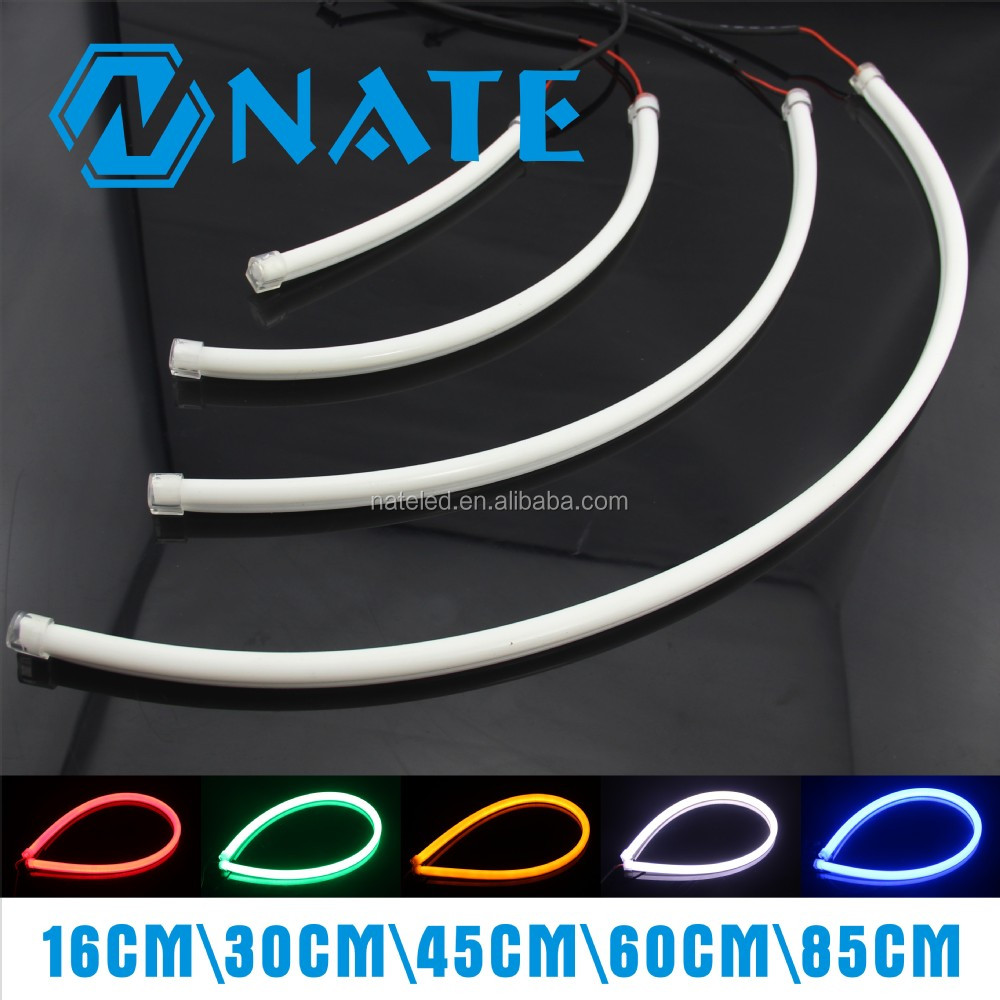 Car Light Decoration Car Accessories Led Auto 16cm 30cm 45cm 60cm 85cm Decoration Light