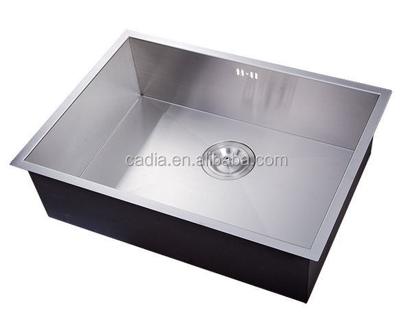 Best quality promotional 540x440x200mm Single bowl Under mounted pedestal oiled wash basin