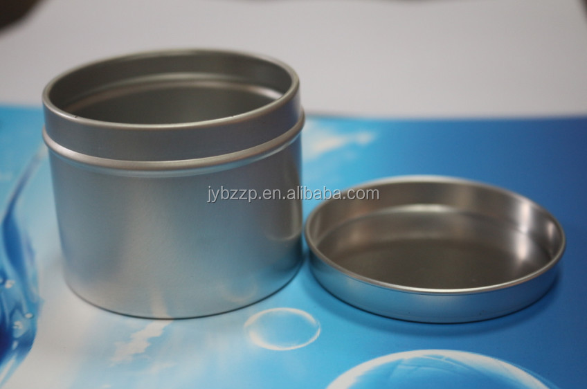 off-set printing&silkscreen printing aluminum coffee bean tin can, screw cap/slip cap aluminum can for tea