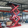 custmize available fixed scissor freight elevator