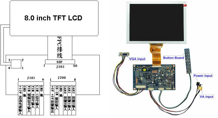 HTB1h2FfFVXXXXXIaXXXq6xXFXXXm 8 inch ( tft lcd display module ) digital lcd screen buy digital tft lcd color monitor wiring diagram at crackthecode.co