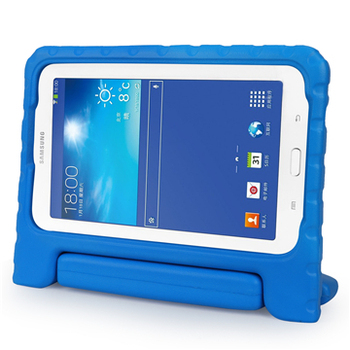 Hot selling kids eva hoge kwaliteit drop proof handvat stand case cover voor Samsung Galaxy Tab 3 Lite 7.0/Galaxy Tab E Lite 7.0