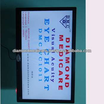 Led Vision Chart For Ophthalmic Visual Acuity Eye Chart Buy Vision