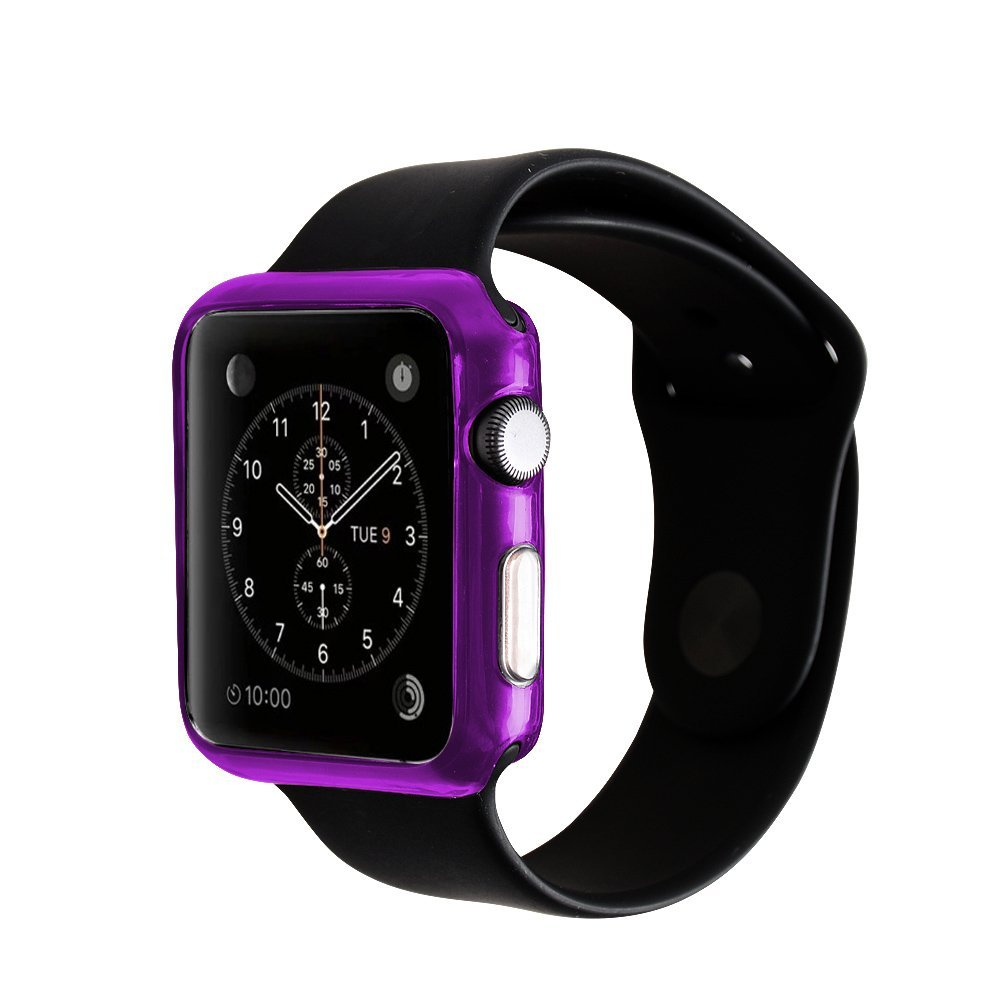 Buy For Apple Watch Case2win2buy Ultra Thin 42mm Case Tpu Soft Crystal Clear Slim