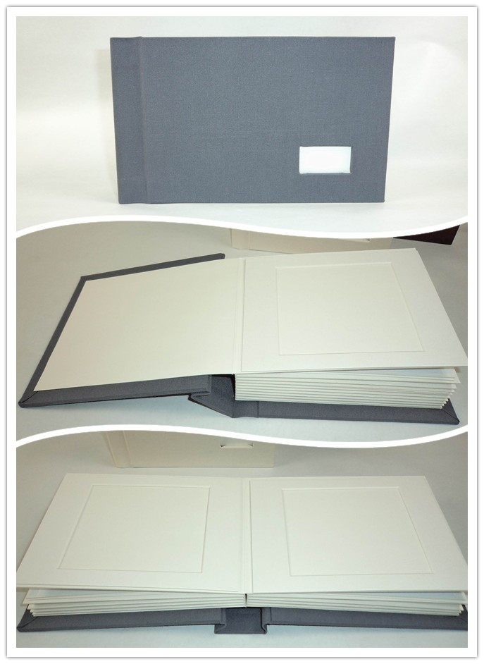 handmade paper black photo album wedding photo book