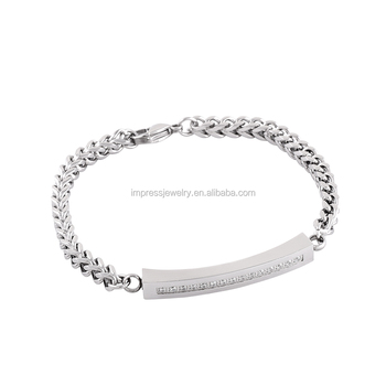 Ijb5027 Factory Whole Open On Both Sides Stainless Steel Memorial Urn Jewelry Keepsake Cremation Bracelets