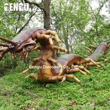 Giant Centipede Artificial Animatronic Insect Model