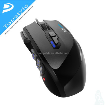 Topystyle Macro Gaming Mouse 2017 New Arrival !20 Marco Keys Mmo Razer  Gaming Mouse,Mouse Pc,Mouse Optical - Buy Razer Gaming Mouse,Mouse Pc,Mouse