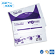 Promotional self adhesive postage satchel purple poly mailers