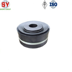 Oil field 3NB-1600HL mud pump piston assembly and piston rubber, HNBR piston