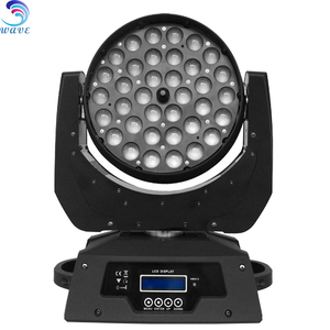 36 x 10w rgbw wash led zoom moving head light