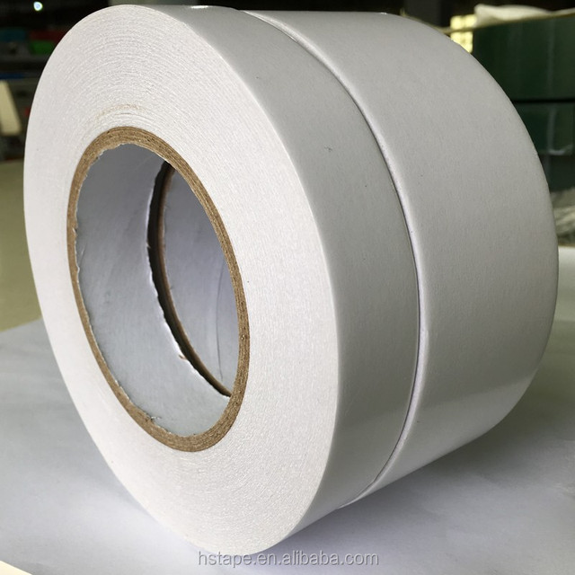 Specialty Tissue Paper Adhesive Tape Roll With Acrylic Adhesive, For Leather, Furniture, Foam & Plastic Permanent Adhesion