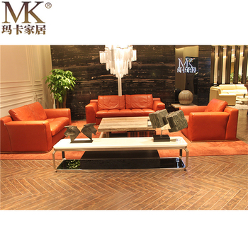 Chinese Living Room Furniture In China Factory Modern Living Room Furniture Leather Lounge Suites Sofas