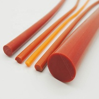 16mm size solid silicone rubber extrusion cord