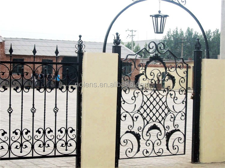 Wrought Iron Gate,Apartment Main Entrance Gate Designs - Buy Sliding ...