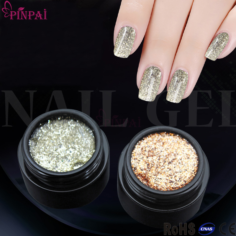 Pinpai brand new design fashionable eco-friendly healthy beautiful colors platinum nail uv gel
