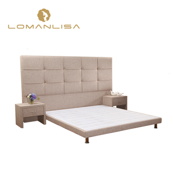 Free sample Wholesale King Queen Size Modern Double Bed Frame