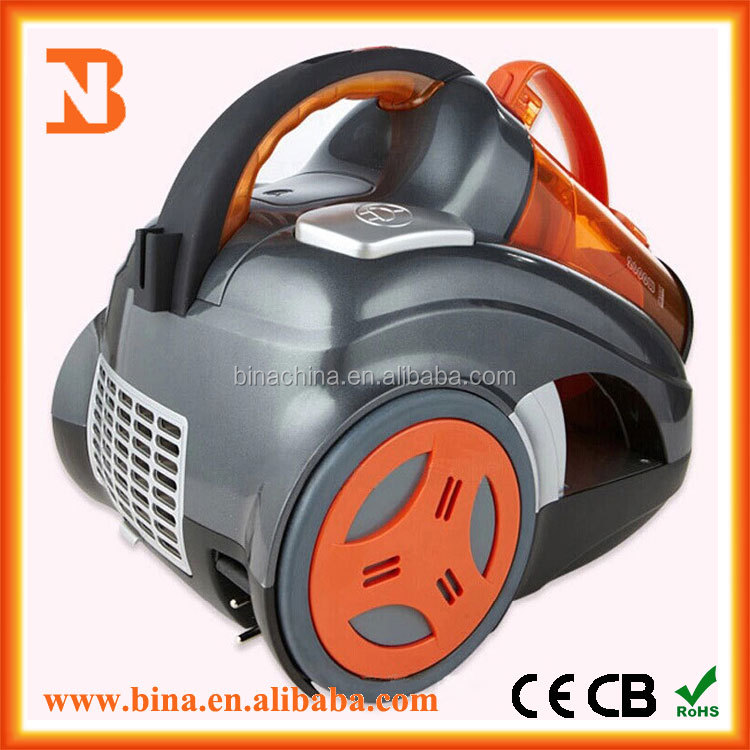 Bagless Vacuum Cleaner with Cord Rewinder