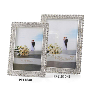 Good texture simple design 4*6 inch square painting picture photo frame