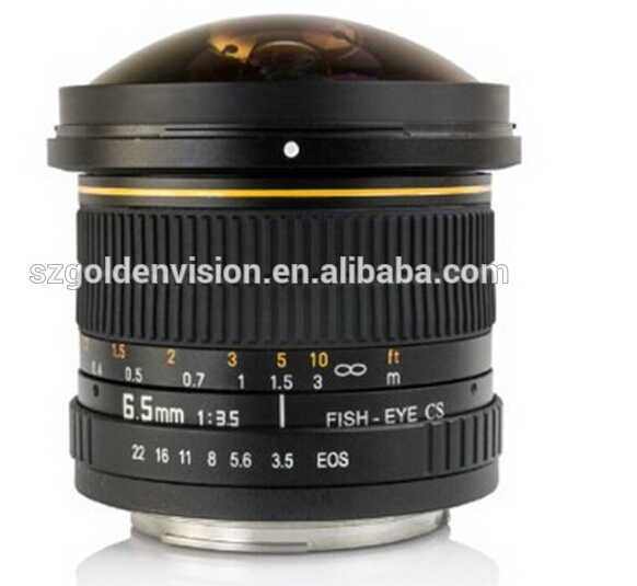 6.5mm F/3.5 Hd Fisheye Lens For Nikon D750 D810 D5500 D3300 D5300 ...