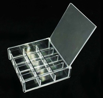Wholesale Clear Acrylic Makeup Storage Containers Transparent