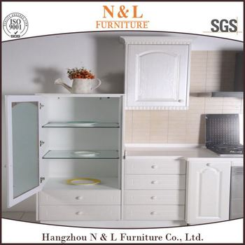 Pre made cabinet doors pvc film faced mdf kitchen for Premade kitchen drawers
