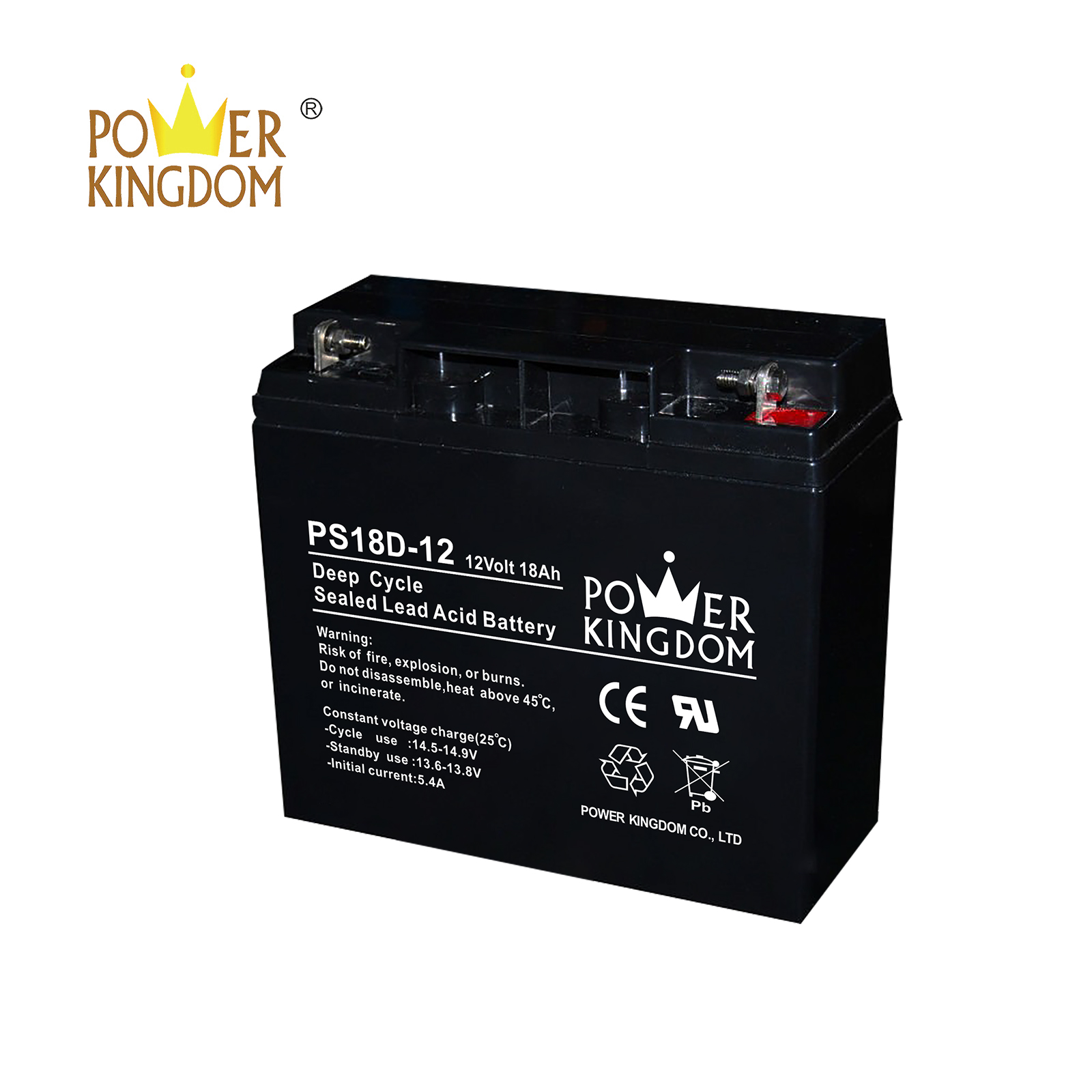 Power Kingdom Best 6 volt gel cell deep cycle battery factory-2