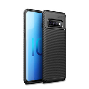 Shockproof Tpu Phone Case Cover For Samsung Galaxy s10 plus black color