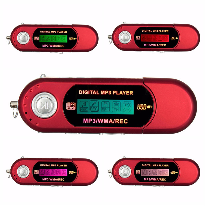 High Speed <strong>MP3</strong> with LCD HD Screen Flash Support TF Card External Memory <strong>MP3</strong> Music Player with FM Radio & Voice Record Function
