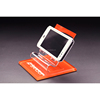 Clear Acrylic Cell Phone Holders For Desk Shop Retail Display Stand With Price Tag