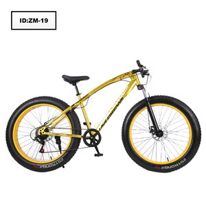 factory supply 26 inches 7 speed bike high carbon steel fat tire mountain bike