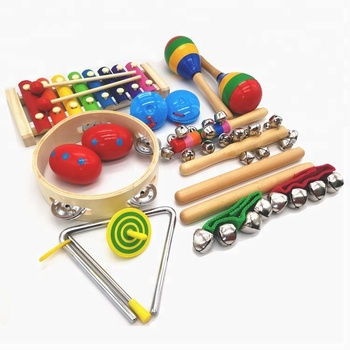 2018 Promotional Colorful Kids Music Instrument Toys Educational Toy