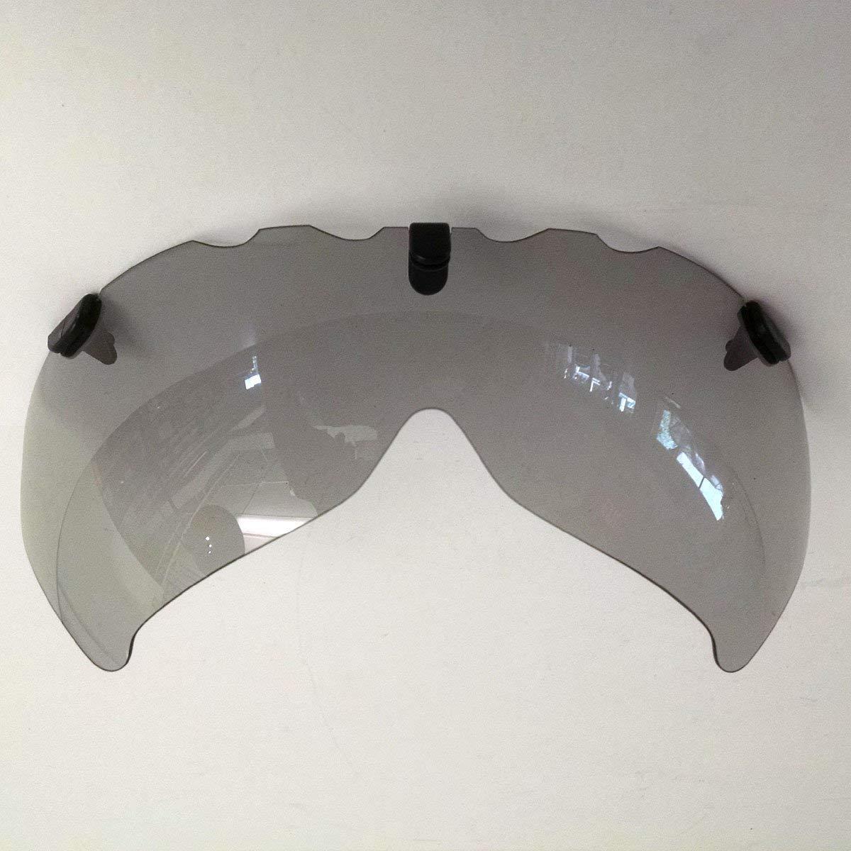 Bell Javelin Helmet Replacement Eye Shield - Grey, Medium - 2032120