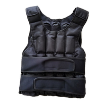 Manufacture Wholesale Adjustable Fitness Training Sandfilled 30kg Weight Vest
