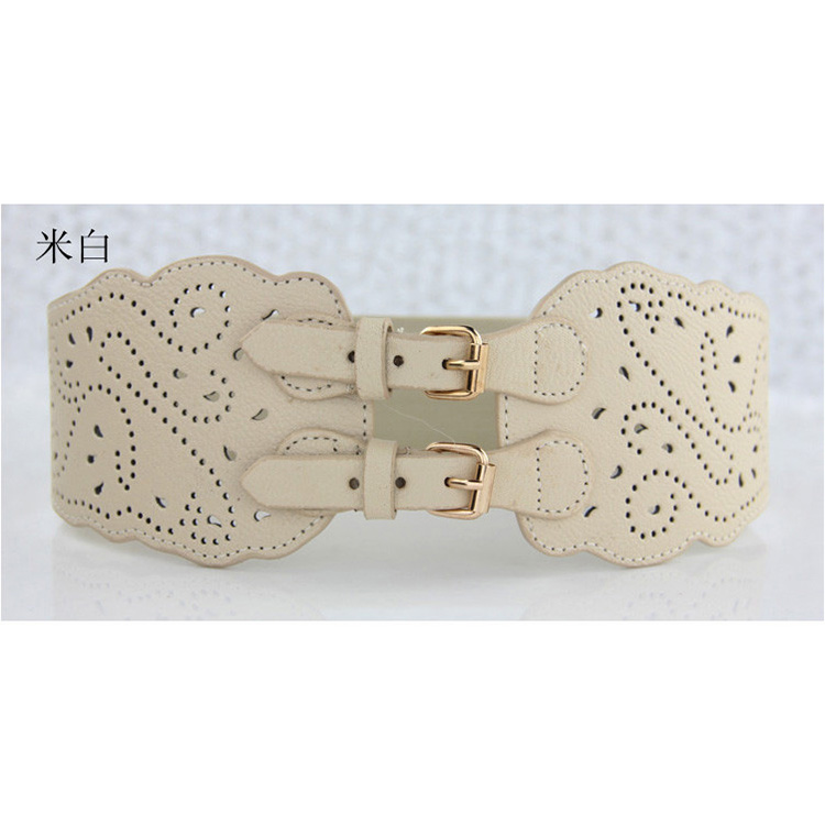 Factory wholesale popular top selling elastic wide corset belt 95G