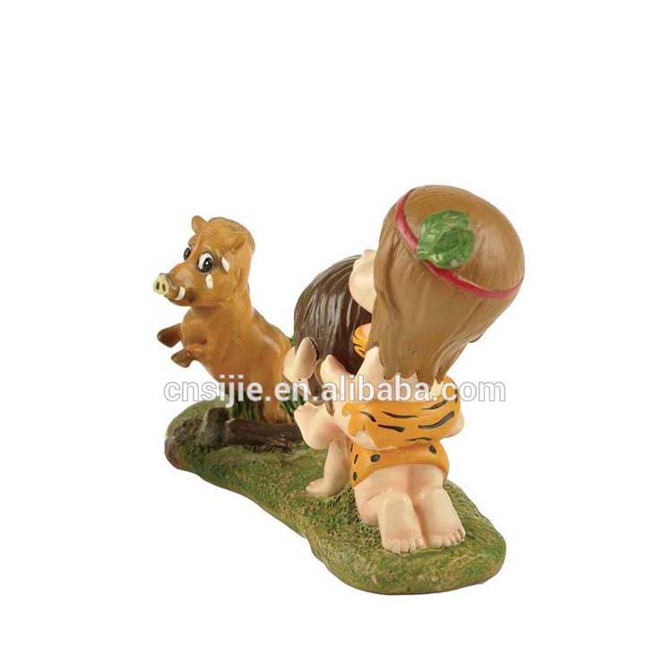 Best quality resin girl and boy figurines decoration for valentines day gifts