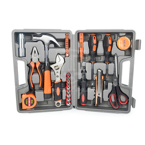 Home tool set 32pcs different types of hand tools set for mechanics