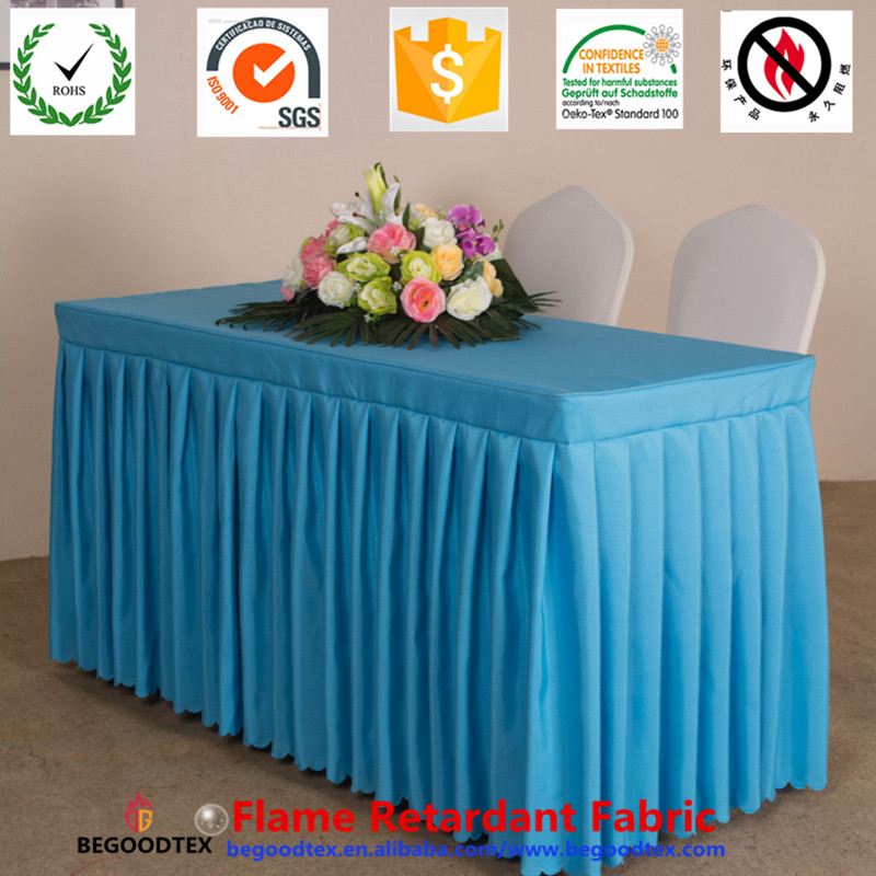 Wholesale Polyester Decorative party fr table cover sheet