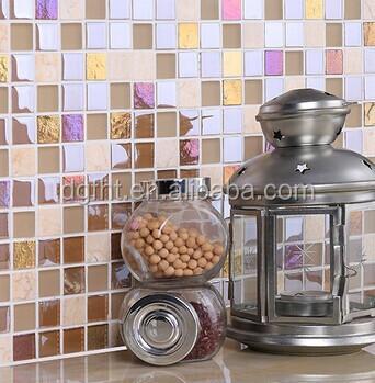 Kitchen Tiles Stickers pvc wall sticker bathroom waterproof self adhesive wallpaper