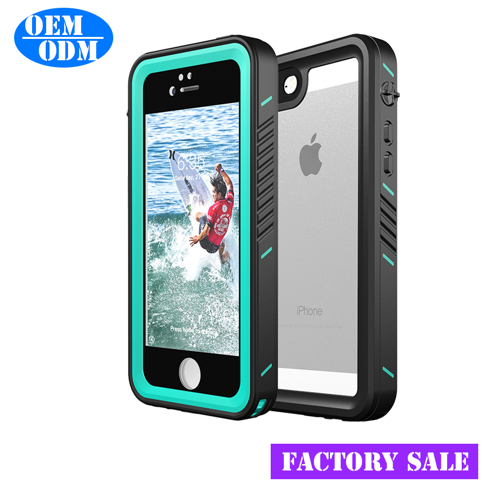 2017 soft case Factory OEM case for iphone 5 SE waterproof mobile phone case transparent tpu shockproof for iphone SE