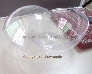 Giant Divisible Clear transparent Christmas ball Large Splittable Xmas balls