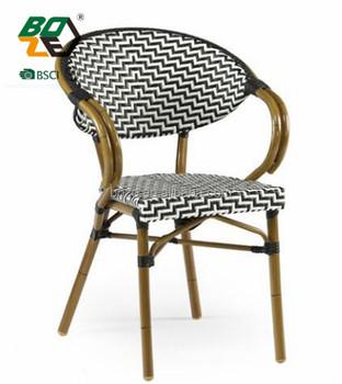 En Bambou Chaise De Cafe Terrasse