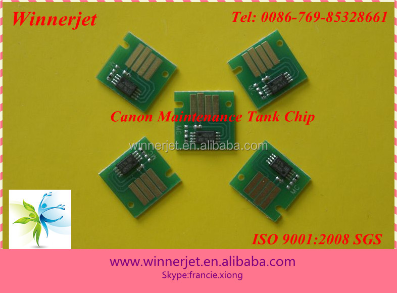 For Canon MC-05 Maintenance Cartridge Chip For Canon iPF-5000 and iPF-5100