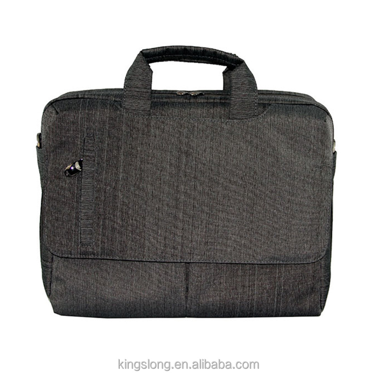 Nylon Material and Laptop Type new grey bags