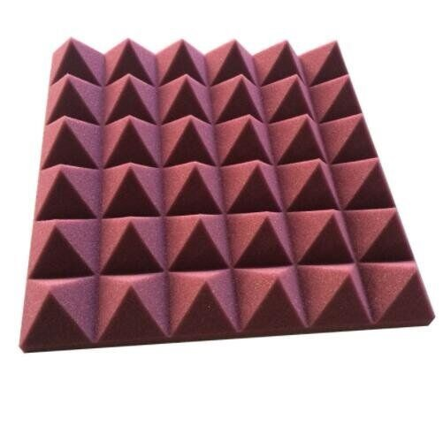 Die cut PU foam pyramidal acoustic foam <strong>panel</strong> for Concert hall