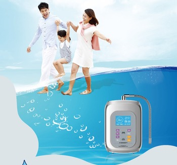 Japan Titanium platinum electrolysis water ionizer antioxidant alkaline water ionizer air purifier ionizer with hydrogen and ORP