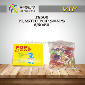 T8500 PLASTIC POP SNAPS WHOLESALE FACTORY DIRECT MANUFACTURE THROWDOWN INDOOR AND OUTDOOR CHILDREN'S HAPPINESS FIREWORKS